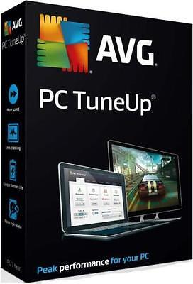 AVG PC TuneUp  2016  3 Computer  User  2 Year License Tune up Download Key Only