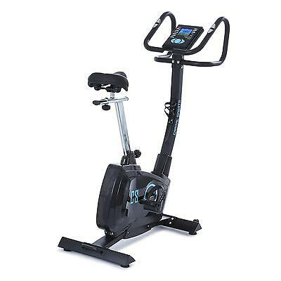 Capital Sports Cardio Excercise Bike Professional Pulse Rate Black Bicycle Gym