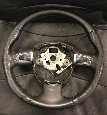 Audi A3 A5 Leather Black Steering Wheel Multi Function OTHER MODELS 8T0419091A