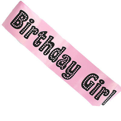 Miss Behave Pink Birthday Girl Sash Perfect Night Out Accessory