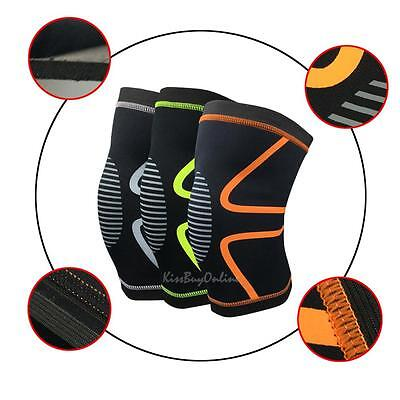 1 pcs Outdoor Sports Elastic Knee Support Protect Wear Basketball Kneecap
