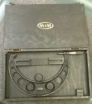 MOORE & WRIGHT External Micrometer 175 - 200mm and Case