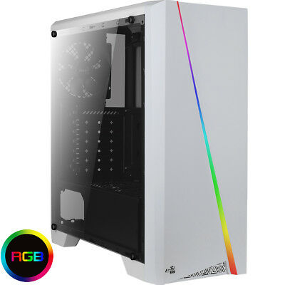 ULTRA FAST Quad Core Gaming PC Tower PC With WIFI & 8GB 1TB HDD & Windows 7