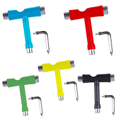 Roller Skate Scooter Skateboard Tools Mini Kick T Type Wrench Tools Accessories