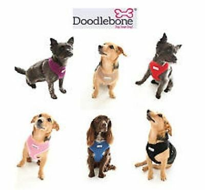 Doodlebone Soft Air Mesh Dog Harness - Choice of Colours & Sizes