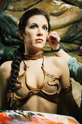 "042 Carrie Fisher - Princess Leia Organa Star War USA Actor 14""x21"" Poster"