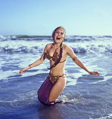 "058 Carrie Fisher - Princess Leia Organa Star War USA Actor 14""x14"" Poster"