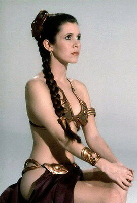 "051 Carrie Fisher - Princess Leia Organa Star War USA Actor 14""x20"" Poster"