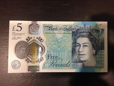 Extremely Rare Aa01 £5 Note!!!