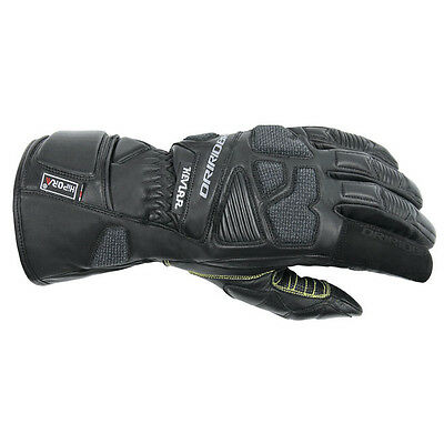 Dririder Apex 2 Leather All Season Touring Gloves Mens Black S - 4XL