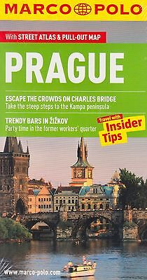 Prague Marco Polo Pocket Travel Guide BRAND NEW BOOK Paperback+Pull-out Map 2013