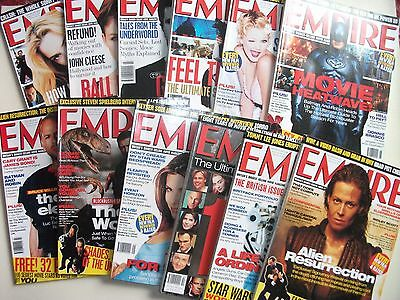 EMPIRE FILM MAGAZINE COLLECTION 1997 - 2013 Monthly