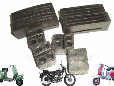 Lambretta Li Sx Tv Petrol Tank Rubber Buffer Set Series 3 Scooters @cad