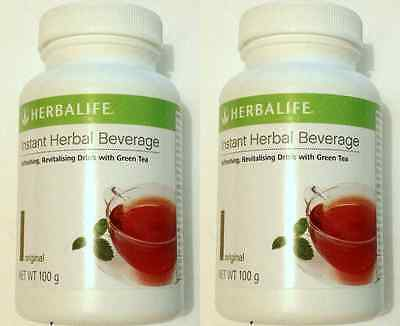2 x Herbalife Instant Herbal Beverage Tea Concentrate New stock 24 months expiry