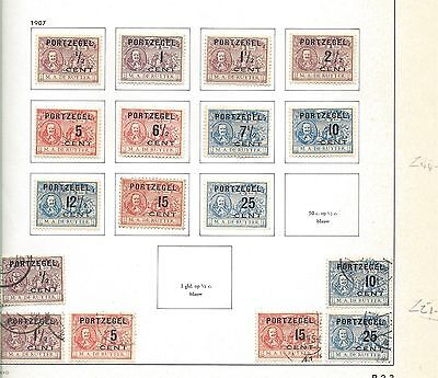 Netherlands Postage Dues Mint & Used