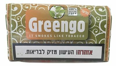 Greengo Herbal Smoking Mixture Nicotine Tobacco Free Substitute 30g + RAW Paper