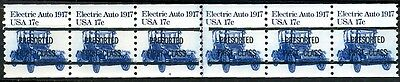 #1906a  17c Auto  Plate #4 Type A/A Line Gap PS6