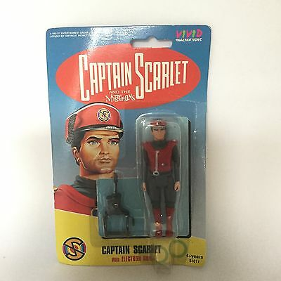 Captain Scarlet And The Mysterons Captain Scarlet Action Figure New & Sealed