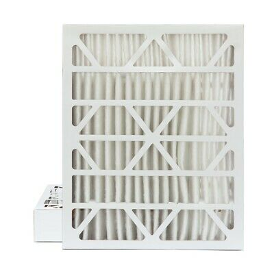 """20x25x4 MERV 13 Pleated AC Furnace Air Filters.  2 Pack (Actual Depth: 3-3/4"""")"""