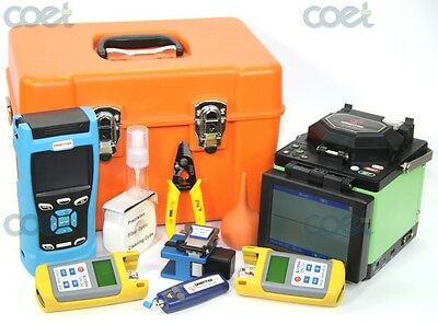 splicing machine Orientek T40 fusion splicer +T303 SM OTDR 1310/1550nm+ test kit