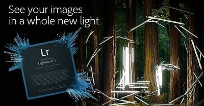 Adobe lightroom 5.7.1 - Genuine for Windows & Mac - Download for 2 computers