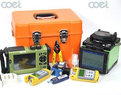 TR600 MM OTDR 850/1300nm+ T40 fusion splicer fusion splicing machine+OPM+OLS+VFL