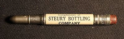 Steury Bottling Co. - Bluffton, Indiana - Wells County - Vintage Advertising