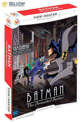 Mattel Vr View-Master Virtual Reality Batman The Animated Series Experience Pack