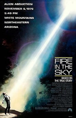 FIRE IN THE SKY 11x17 mini movie poster collectible