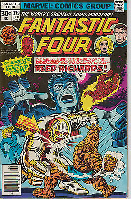 Fantastic Four 179 - 1977 - Cents issue - Very Fine