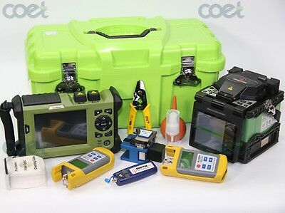 free ship Orientek T37 fiber optic fusion splicer splicing machine+TR600 SM OTDR