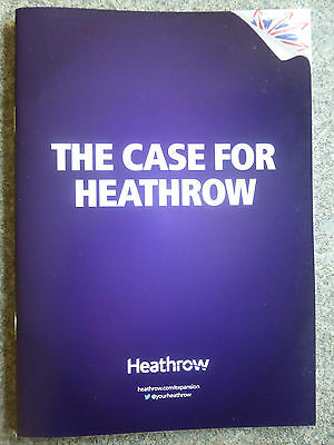 Heathrow Airport Expansion Third Runway 24 Page Update Info Guide Booklet