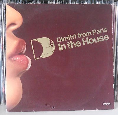 Dimitri from Paris In The House Double LP Defected 2003 Rufus & Chaka Jestofunk