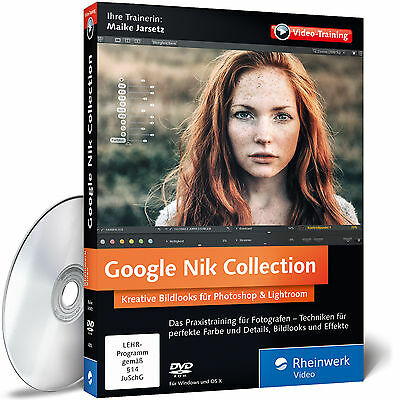 Google Nik Collection Maike Jarsetz 9783836243100