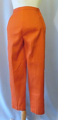 Vintage 70s Girls Capri Pants Dead Stock Slacks Tapered sz 12