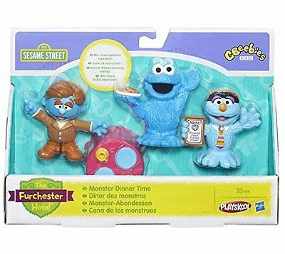 Sesame Street - The Furchester Hotel - Monster Dinner Time - New