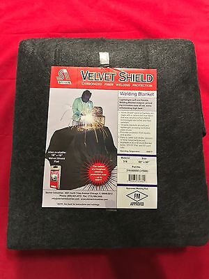 "Genuine Steiner Velvet Shield Welding Blanket 60"" X 80"" 316 FREE SHIPPING"
