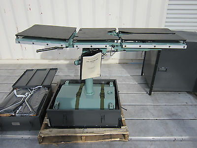 Atlantic Industries Inc. Surgical field Operating Table, Part number E99-001