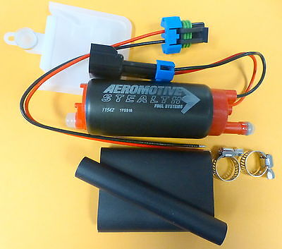 Aeromotive 11542 340 LPH Stealth In Tank Electric Fuel Pump Offset Inlet E85