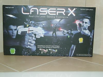 LASER X Two Player Real-Life Laser Gaming Experience - 2 Blaster 2 Vest