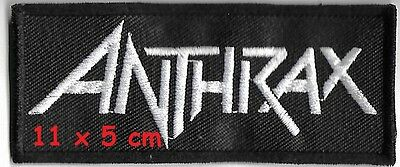 ANTHRAX  -  Logo patch - FREE SHIPPING