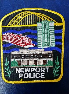 Newport, Kentucky Police Shoulder Patch Ky