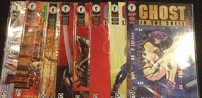 Ghost In The Shell 8 Issue Comic Set 1-8 Complete Dark Horse Masamune Shirow