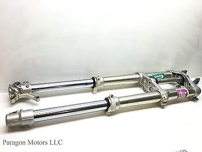 98#2 97 98 Yamaha YZ250 YZ 250 Front Forks Fork Clamp Triple Tree