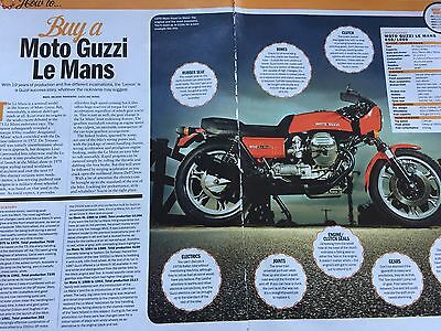 Moto Guzzi Le Mans # Buying Guide # 3 Page Original Motorcycle Article