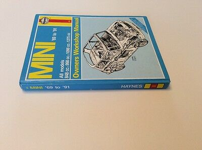 Mini Owners Workshop Manual 69 to 91 Published by Haynes.