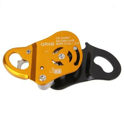 Outdoor Rock Climbing Gear Aluminum Grab Protecta for 8mm - 13mm Rope