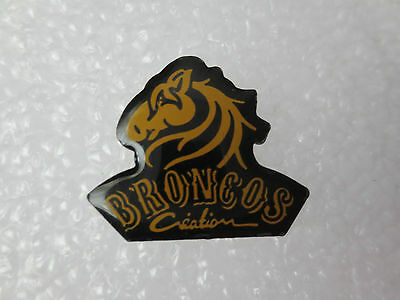 Denver Broncos American Football Pin Badge, Usa Sporting Memorabilia