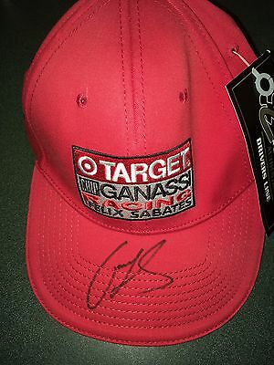 Chip Ganassi on Target his racing team hat with tag $39