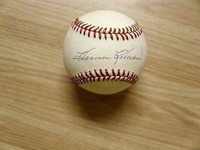 Harmon Killebrew  autographed baseball  $35.00  with ball holder
